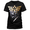 T-SHIRT  -  Nintendo - Black, Zelda T-Shirt With Link