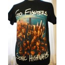 FOO FIGHTERS - Sonic Highways  (T-shirt)