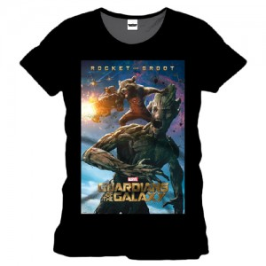 GUARDIANS  Of The GALAXY  - Rocket And Groot   -  T-shirt