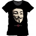 V for VENDETTA   ( T-shirt)