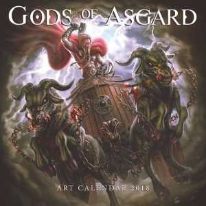 CALENDARIO GODS OF ASGARD  2018