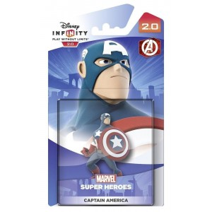 DISNEY INFINITY 2.0:   Character  MARVEL SUPER HEROES PERSONAGGI -   Captain America Figure